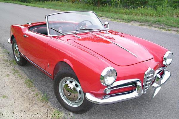 1959 Alfa Romeo Veloce Spider